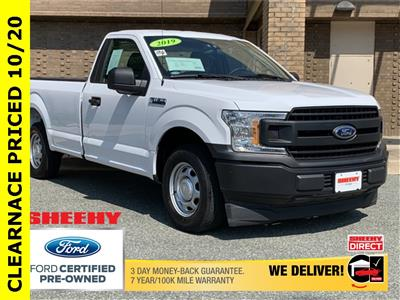 2019 Ford F-150 Regular Cab 4x2, Pickup #CKE5672A - photo 1