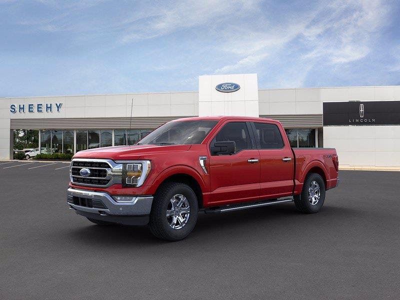 2021 Ford F-150 SuperCrew Cab 4x4, Pickup #CKD31057 - photo 3