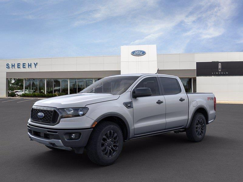 2021 Ford Ranger SuperCrew Cab 4x4, Pickup #CLD01294 - photo 3