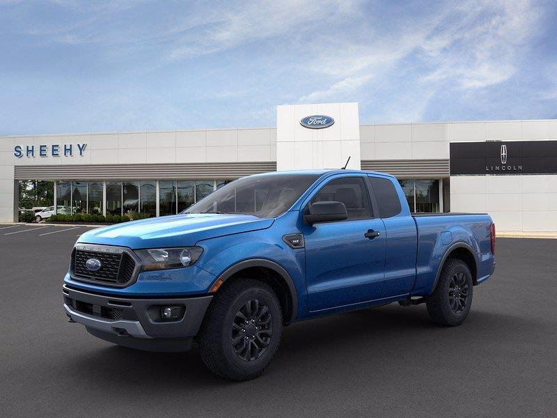 2021 Ford Ranger Super Cab 4x4, Pickup #CLD12158 - photo 3