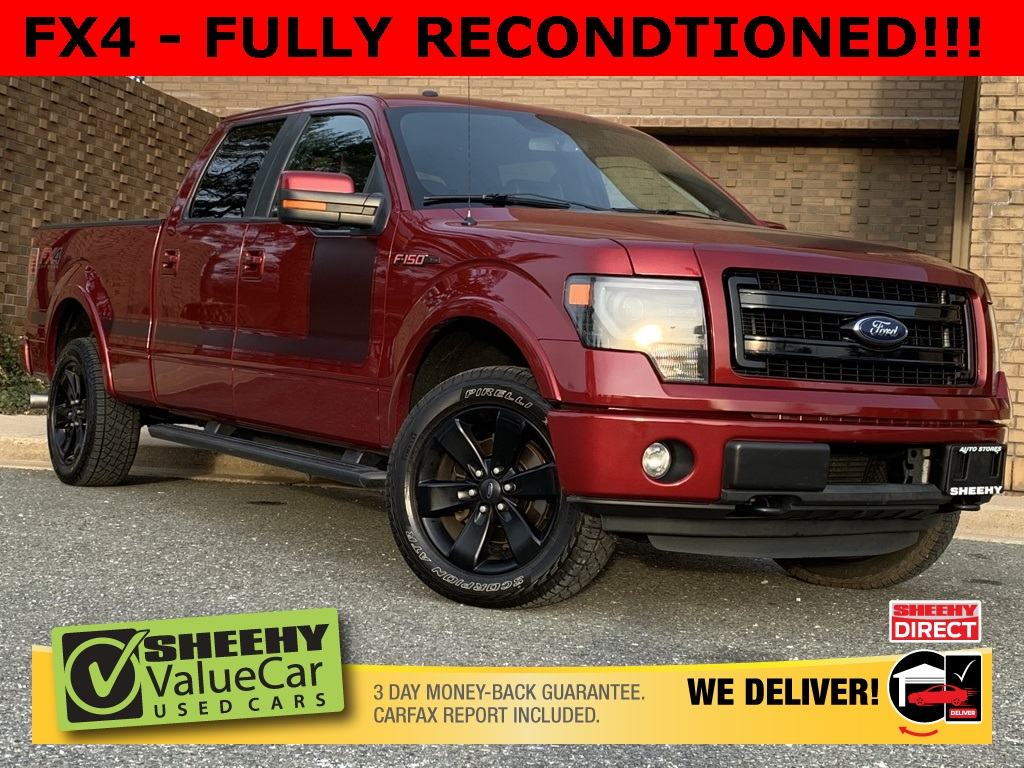 2013 Ford F-150 SuperCrew Cab 4x4, Pickup #CP90419A - photo 1