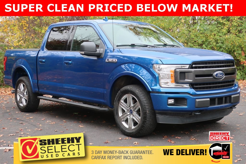 2018 Ford F-150 SuperCrew Cab 4x4, Pickup #CP906039 - photo 1