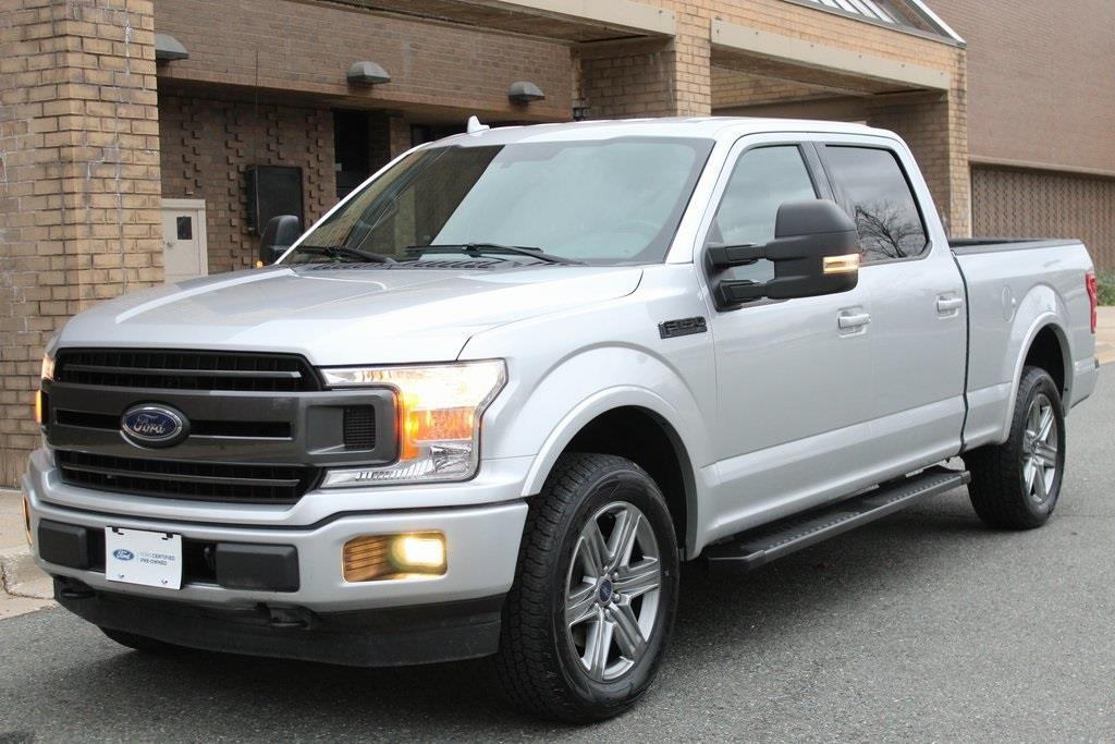 2018 Ford F-150 SuperCrew Cab 4x4, Pickup #CP906509 - photo 9