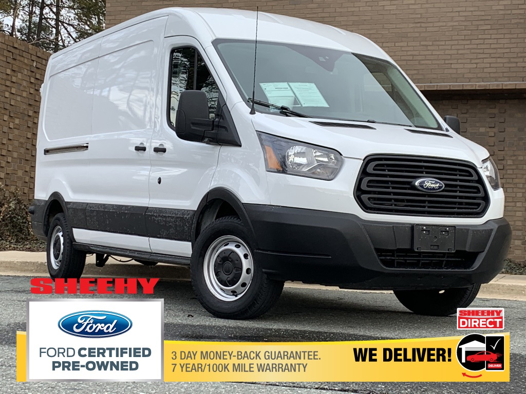 2019 Ford Transit 150 Med Roof 4x2, Empty Cargo Van #CR97219 - photo 1
