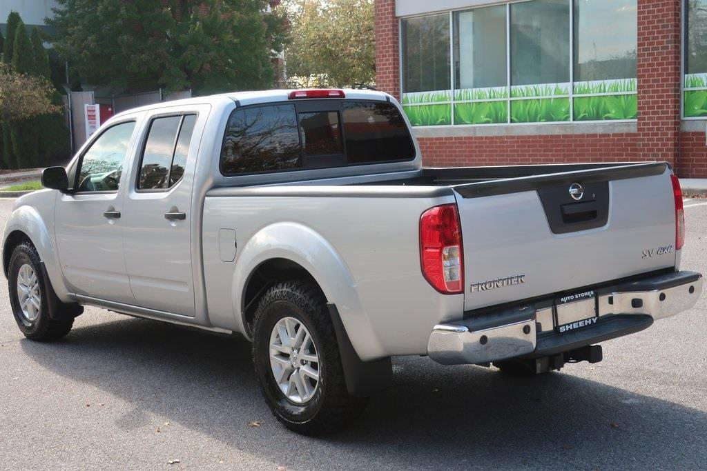 2017 Nissan Frontier Crew Cab 4x4, Pickup #CS26780B - photo 13