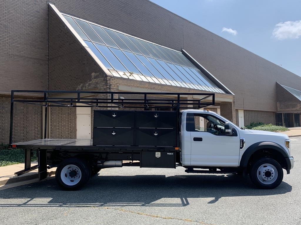 2019 F-550 Regular Cab DRW 4x2,  PJ's Truck Bodies Platform Body #CZ01172 - photo 4