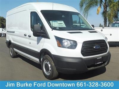 2019 Transit 250 Med Roof 4x2,  Adrian Steel PHVAC Upfitted Cargo Van #2C19518 - photo 1