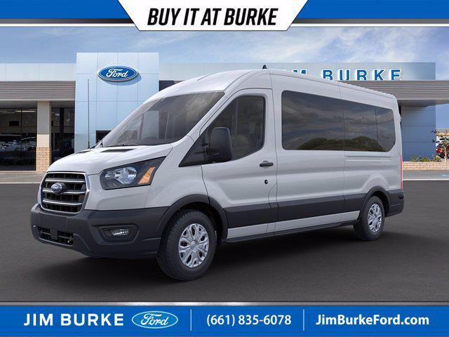 2020 Ford Transit 350 Med Roof 4x2, Passenger Wagon #2C72360 - photo 1