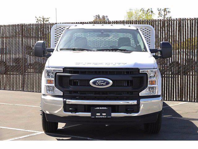 2021 Ford F-350 Regular Cab DRW 4x2, Scelzi WFB Platform Body #3G76453 - photo 4