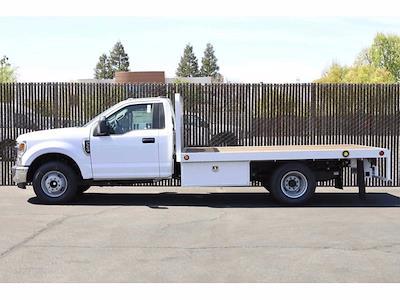 2021 Ford F-350 Regular Cab DRW 4x2, Scelzi WFB Platform Body #3G76453 - photo 10