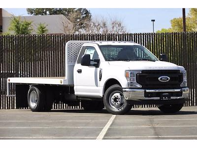 2021 Ford F-350 Regular Cab DRW 4x2, Scelzi WFB Platform Body #3G76453 - photo 3