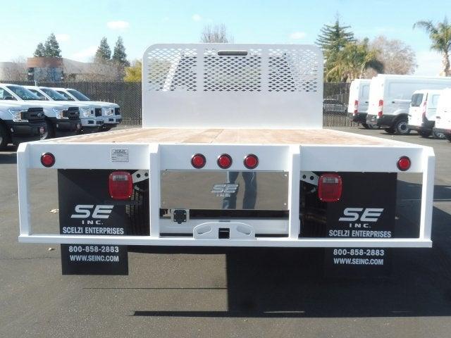 2019 F-350 Regular Cab DRW 4x2, Scelzi WFB Platform Body #3G80997 - photo 4