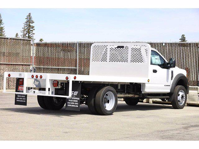 2021 Ford F-450 Regular Cab DRW 4x2, Scelzi Platform Body #4G03281 - photo 1