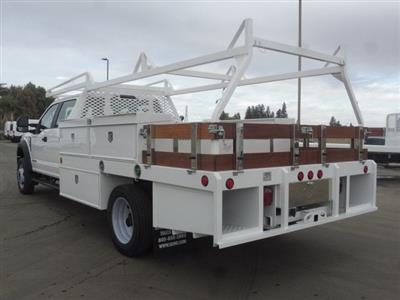 2019 F-450 Crew Cab DRW 4x2,  Scelzi CTFB Contractor Body #4G86004 - photo 2