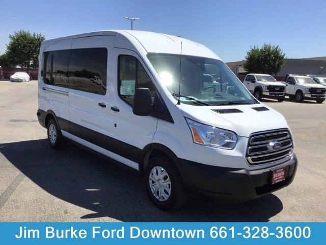 2019 Ford Transit 350 Med Roof RWD, Passenger Wagon #P17702 - photo 1