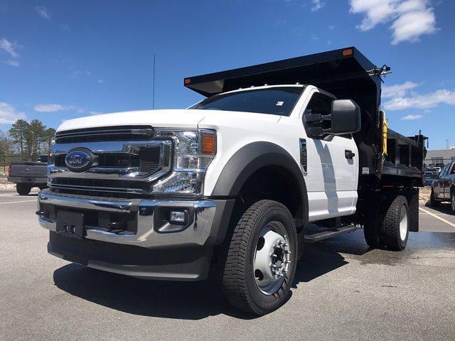 2021 Ford F-550 Regular Cab DRW 4x4, SH Truck Bodies Dump Body #N10004 - photo 1