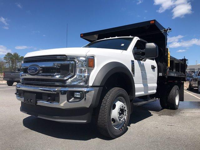 2021 Ford F-550 Regular Cab DRW 4x4, SH Truck Bodies Dump Body #N10004 - photo 3