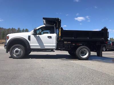 2021 Ford F-550 Regular Cab DRW 4x4, SH Truck Bodies Dump Body #N10004 - photo 4