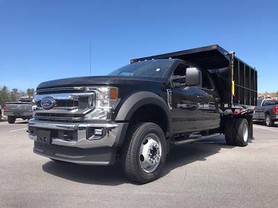 2021 Ford F-550 Crew Cab DRW 4x4, SH Truck Bodies Landscape Dump #N10007 - photo 1
