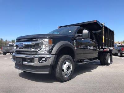 2021 Ford F-550 Crew Cab DRW 4x4, SH Truck Bodies Landscape Dump #N10007 - photo 3