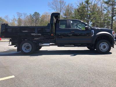 2021 Ford F-550 Super Cab DRW 4x4, Rugby Eliminator LP Steel Dump Body #N10073 - photo 7