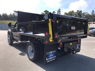 2022 F-550 Regular Cab DRW 4x4,  Iroquois Brave Series Steel Dump Body #N10295 - photo 2