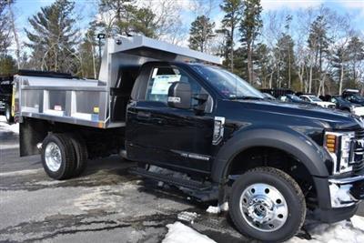 2018 F-550 Regular Cab DRW 4x4,  Iroquois Brave Series Stainless Steel Dump Body #N7022 - photo 1