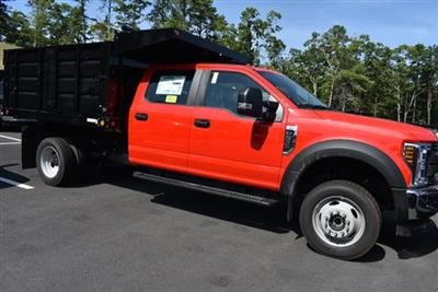 2018 F-550 Crew Cab DRW 4x4,  Reading Landscape Dump #N7269 - photo 1