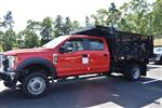 2018 F-550 Crew Cab DRW 4x4,  Reading Landscape Dump #N7269 - photo 3