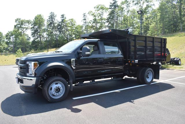2018 F-550 Crew Cab DRW 4x4,  Reading Landscape Dump #N7270 - photo 4