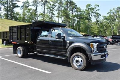 2018 F-550 Crew Cab DRW 4x4,  Reading Landscaper SL Landscape Dump #N7270 - photo 3
