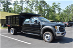 2018 F-550 Crew Cab DRW 4x4,  Reading Landscape Dump #N7270 - photo 1