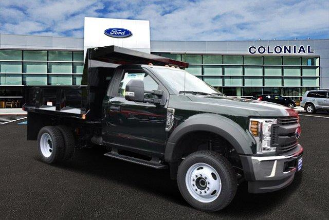 2018 F-550 Regular Cab DRW 4x4,  Iroquois Brave Series Steel Dump Body #N7318 - photo 1