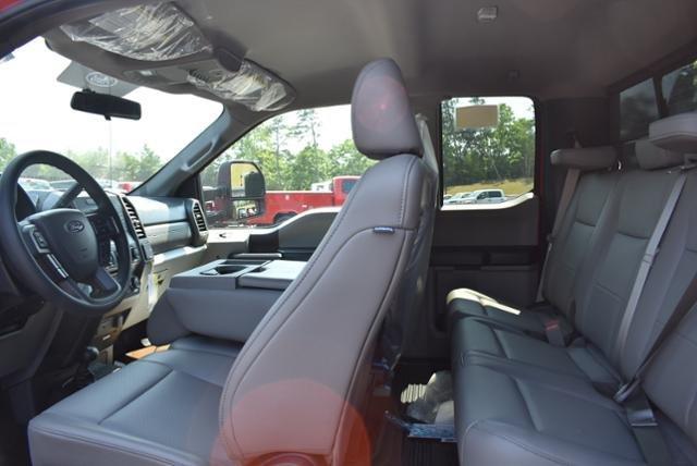 2018 F-550 Super Cab DRW 4x4,  Air-Flo Pro-Class Dump Body #N7335 - photo 8