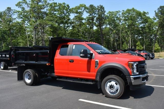 2018 F-550 Super Cab DRW 4x4,  Air-Flo Pro-Class Dump Body #N7335 - photo 3