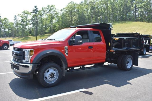 2018 F-550 Super Cab DRW 4x4,  Air-Flo Pro-Class Dump Body #N7335 - photo 5