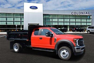 2018 F-550 Super Cab DRW 4x4,  Air-Flo Pro-Class Dump Body #N7335 - photo 1