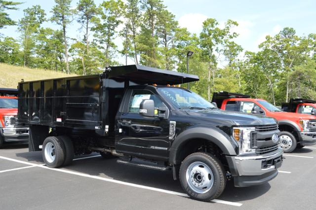 2018 F-550 Regular Cab DRW 4x4,  Reading Landscaper SL Landscape Dump #N7387 - photo 1