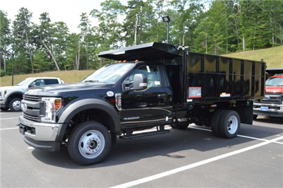 2018 F-550 Regular Cab DRW 4x4,  Reading Landscaper SL Landscape Dump #N7387 - photo 4