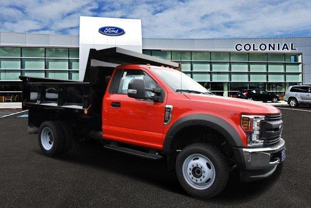 2018 F-550 Regular Cab DRW 4x4,  Iroquois Brave Series Steel Dump Body #N7394 - photo 1