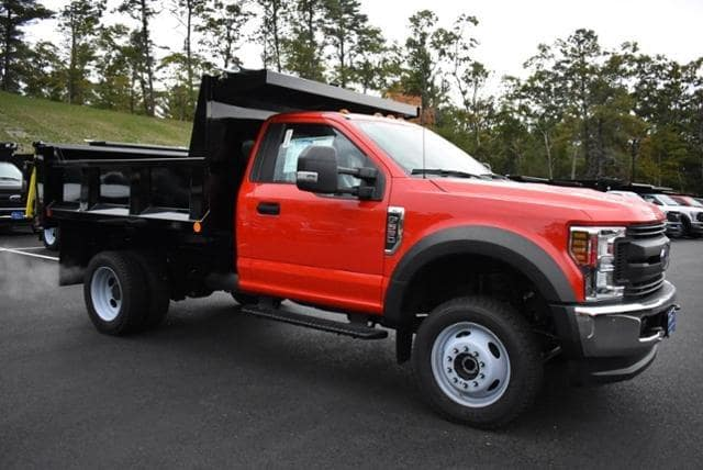 2018 F-550 Regular Cab DRW 4x4,  Iroquois Brave Series Steel Dump Body #N7394 - photo 3