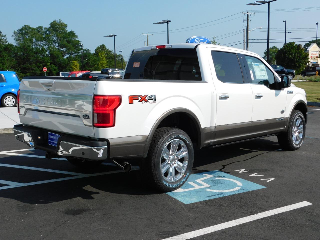 2018 F-150 SuperCrew Cab 4x4,  Pickup #N7476 - photo 2