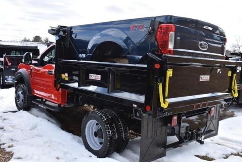 2019 F-550 Regular Cab DRW 4x4, Crysteel E-Tipper Dump Body #N7639 - photo 4