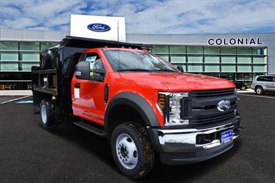 2019 F-550 Regular Cab DRW 4x4,  Crysteel E-Tipper Dump Body #N7639 - photo 1