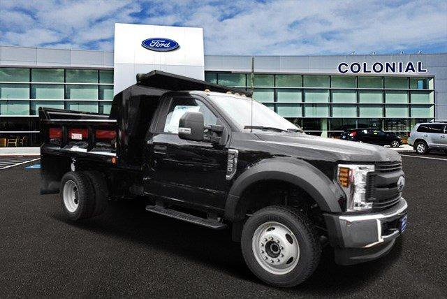 2019 F-550 Regular Cab DRW 4x4,  Crysteel Dump Body #N7640 - photo 1