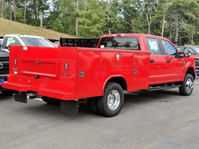 2019 F-350 Crew Cab DRW 4x4, Reading Classic II Aluminum  Service Body #N7643 - photo 2