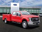 2019 F-350 Crew Cab DRW 4x4, Reading Classic II Aluminum  Service Body #N7643 - photo 1