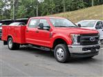 2019 F-350 Crew Cab DRW 4x4, Reading Classic II Aluminum  Service Body #N7643 - photo 3