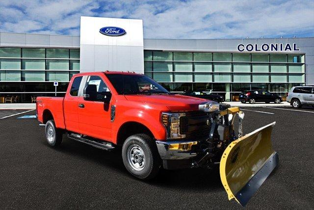 2019 F-250 Super Cab 4x4,  Fisher Snowplow Pickup #N7763 - photo 1