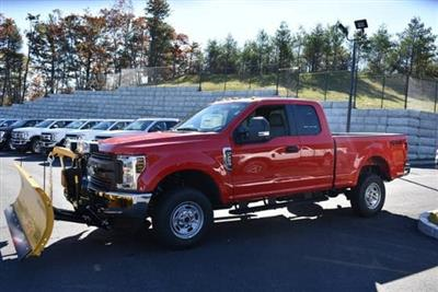 2019 F-250 Super Cab 4x4, Fisher Snowplow Pickup #N7763 - photo 9